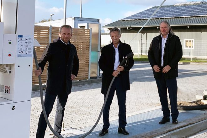Foto von Alexander Lehmann, Ove Petersen und Heinrich Gärtner